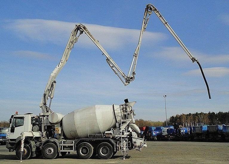 доставка готового бетона
